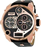 Diesel Men's DZ7261 Mr. Daddy Analog Display Analog Quartz Black Watch