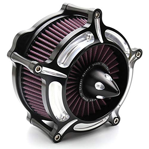 Nrpfell Motorcycle Filtres Dadmission Filtre Dadmission De Filtre /à Air De Turbine pour Harley Sportster Xl883 Xl1200 1991-2011 2012 2014 2014 2015 2016
