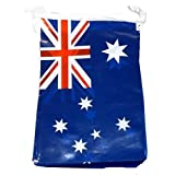 12Ft Australian Flags PVC Bunting Australia Day Party Decoration Banner by Henbrandt