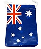 12Ft Australian Flags PVC Bunting Australia Day Party Decoration Banner