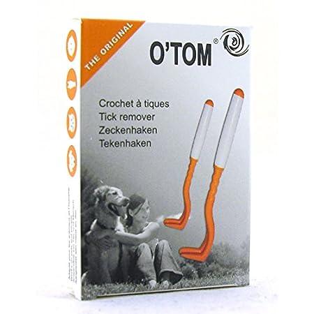 H3d O'Tom Crochet Tiques Twister pour. Grip en silicone Poignée. Pour les animaux ou usage humain Hd3