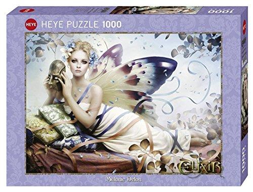 Heye Melanie Delon Behind the Mask 1000 Piece Jigsaw Puzzle