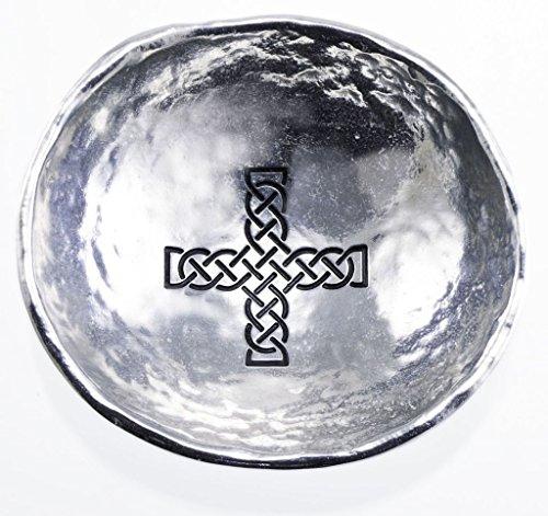 Cathedral Art Celtic Cross Trinket Dish, - Trinket Cross Celtic