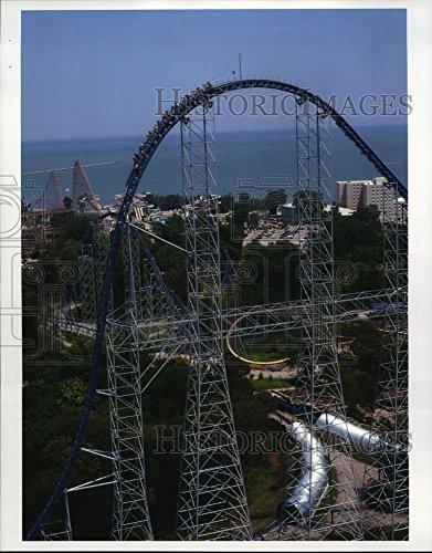 2001 Press Photo Cedar Point Amusement Park In Sandusky  Ohio