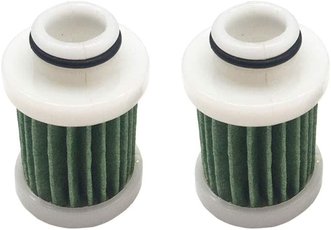 2 Pcs 6D8-WS24A-00-00 Fuel Filter Replacement for Yamaha Marine Outboard 30hp-115hp 2006 /& Later