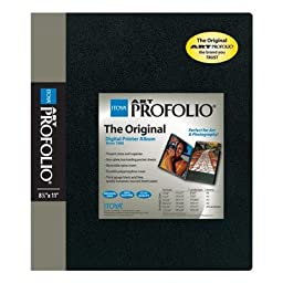 Itoya Art Portfolio 13 x 19 inches Storage Display Book, 24 Sleeves for 48 Views