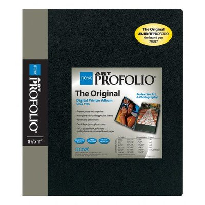 View Artwork - Itoya Art Portfolio 13 x 19 inches Storage Display Book, 24 Sleeves for 48 Views