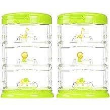 Innobaby Three Tier Packin' Smart Storage System, Lime Sorbet 2 Pack …