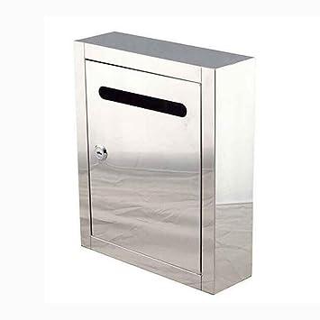 Buzón Liuyu · Living Home Caja de Carta de Acero Inoxidable ...
