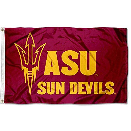 Sun Devils Flag - ASU Sun Devils Maroon University Large College Flag