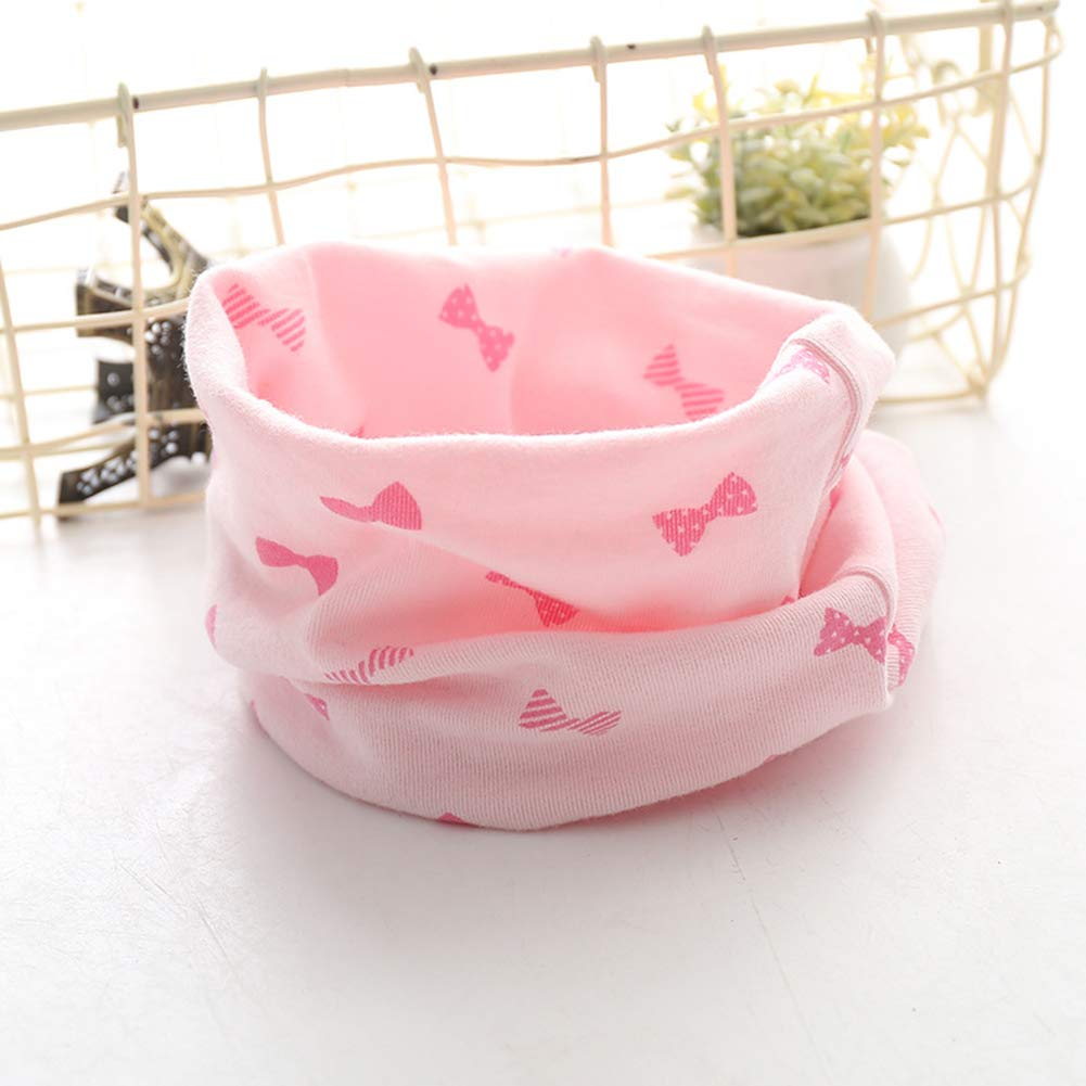 vimbhzlvigour Autumn Winter Well-match Boy Girl Warm Collar Neckerchief Baby O Ring Neck Scarf