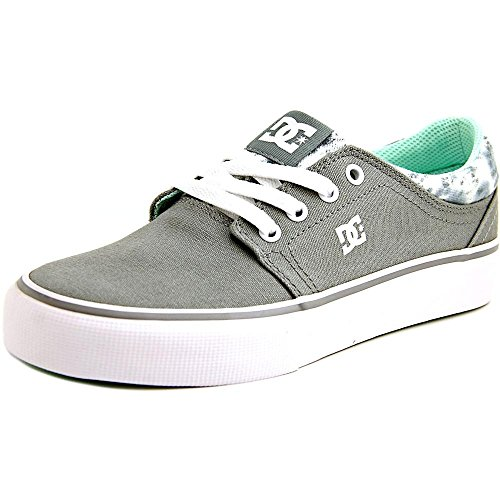 DC Womens Trase TX SE Shoes 6B Grey Feather Camo