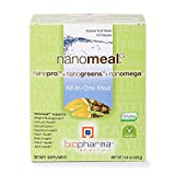 Biopharma Scientific NanoMeal All-In-One Meal Replacement Superfood Powder | Tropical Fruit Blend Flavor | 10 Servings | Nanogreens + NanoPro + NanOmega | Immune Support, Detoxification Review