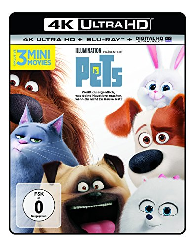Pets  (4K Ultra HD) (+ Blu-ray)