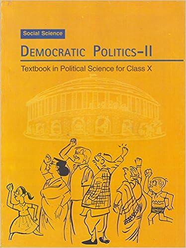 Democratic politics ii textbook in social science for class 10 democratic politics ii textbook in social science for class 10 1072 amazon ncert books fandeluxe Gallery