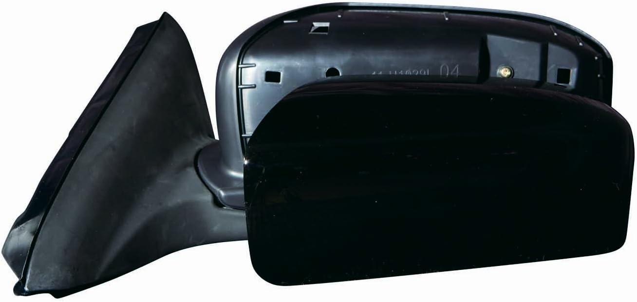 Depo 312-5417R3ELH Glossy Black Passenger Side Power Heated Mirror