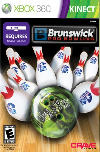 Brunswick Pro Bowling (Requires Kinect) - Xbox 360 (Best Boxing Game For Xbox 360 Kinect)