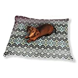 Ethnic Patches Dog Pillow Luxury Dog Cat Pet Bed