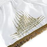 Hayabusa Garuda Muay Thai Shorts - White, Small