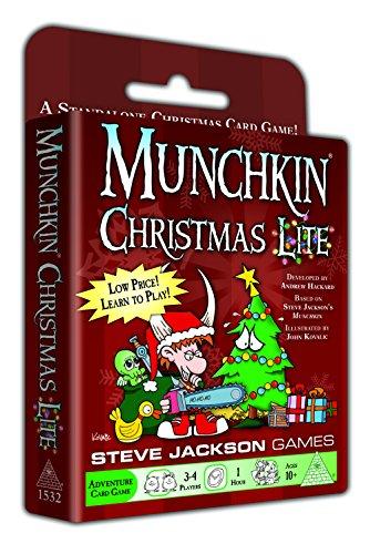 Munchkin Christmas Lite Card Game