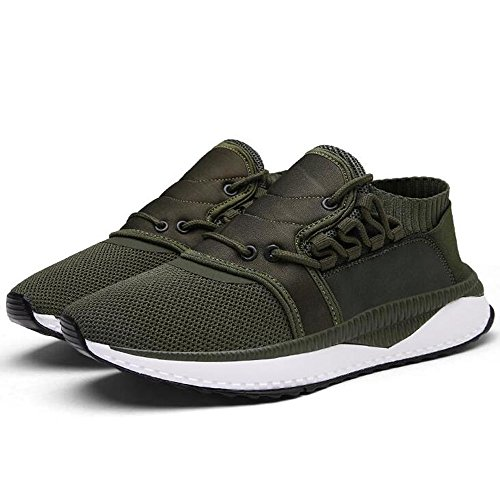 Breathable Leisure CN44 Feifei Colors and Men's Size Autumn Green 3 Spring Color Shoes Shoes Running Mesh UK9 EU43 qTww0
