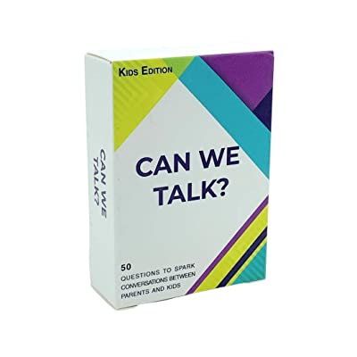 Words Well Said | Can We Talk Cards Kids Edition: 50 Questions to Increase Communication and Bonding Between Adults and Children: Toys & Games
