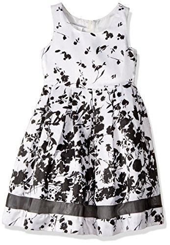 Bonnie Jean Little Girls Sleeveless Party Dress , ivory, -