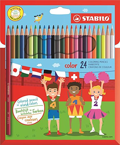 64 opinioni per STABILO color matite colorate colori assortiti- Astuccio da 24