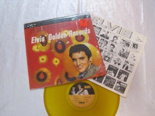 Elvis' Golden Records - Collectors Gold Vinyl - Collectors Elvis Record