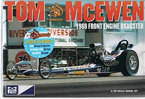 - MPC 900 Tom McEwen 1969 Front Engine Dragster Model Kit
