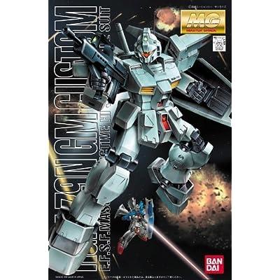 Gundam RGM-79N GM Custom MG 1/100 Scale: Toys & Games