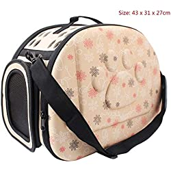 Solazi Dog Carriers - Travel Pet Dog Carrier Puppy Cat Carrying Outdoor Bags for Small Dogs Shoulder Bag Soft Pets Dog Kennel Pet Products 3 Colors 1 PCs