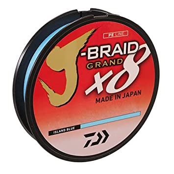 Daiwa J-Braid Grand x8 Island Blue Braided Line
