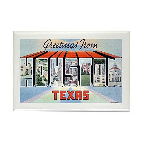 CafePress - Houston Texas TX Rectangle Magnet - Rectangle Magnet, 2