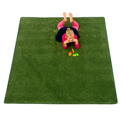 Learning Carpets CPR559 - Solid Military Green (Rectangular)