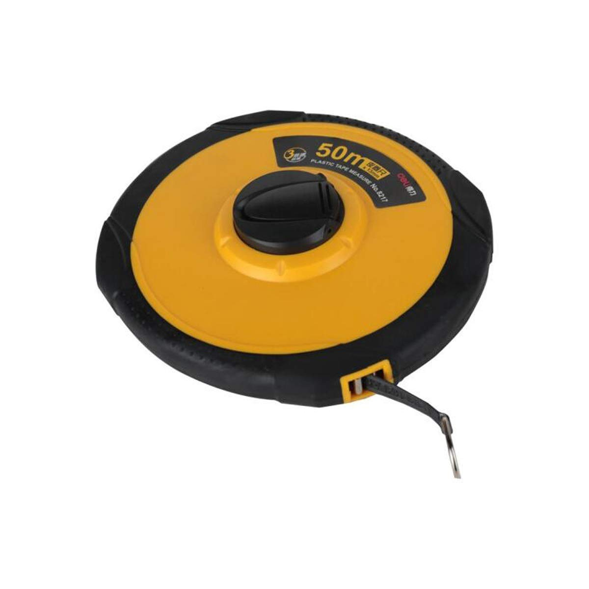 HXSD Ruler, 50m Measuring Precision Scale Shifting Tape Measure/Soft Tape Measure/Engineering Measuring Ruler (Color : Yellow, Size : 50m) by HXSD
