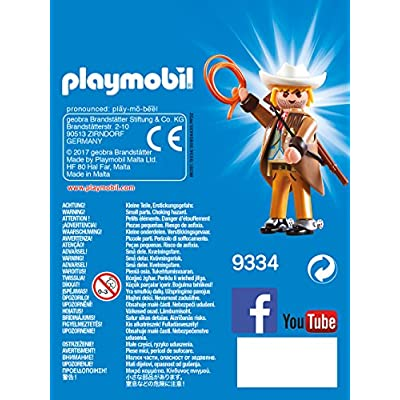 PLAYMOBIL Sheriff Figure Building Set: Playmobil: Toys & Games