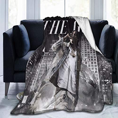 """JamesSBoyins Polo G Soft Blanket Warm Plush Blanket Light and Comfort All Season Micro Velvet Blanket for Living Room/Bedroom 50""""x40"""""""