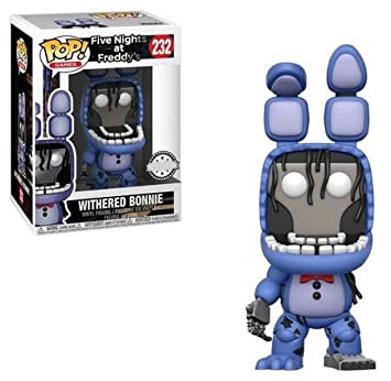 POP Figure POP Nights at Freddy's Withered Bonnie Exclusive