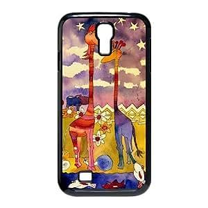 Watercolor giraffe Personalized Phone Case for SamSung Galaxy S4 I9500,custom Watercolor giraffe Case