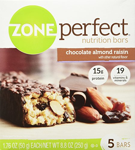 ZonePerfect Chocolate Almond Raisin Nutrition product image