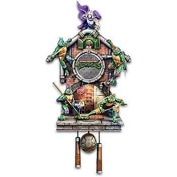 Amazon.com: teenage mutant ninja turtles iluminado reloj de ...