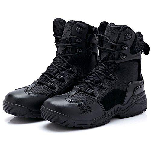 pour Explorer D'usure en Bottes Bottes Plein nihiug De Haut Black Chaussures Hommes De Professionnelles Combat Désert Bottes Tactiques Haut Randonnée Baskets Air du nTp0XTq