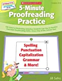 5-Minute Proofreading Practice, Jill Safro, 0545168333