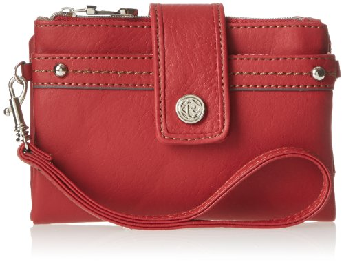 Relic Women's Vicky Tab Multifunction Wallet, Tomato Red, One Size
