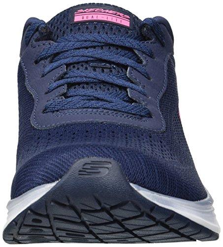 Blue Navy Skyline M Sneaker Sport Skechers 7 US Women's wXaIIx4