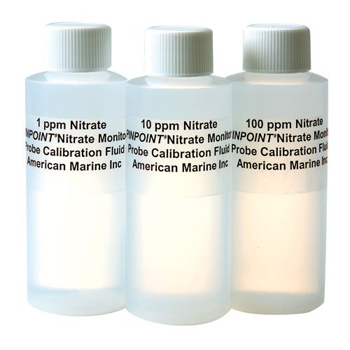 - American Marine Pinpoint Nitrate Calibration Fluid Set