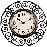 Amazon Com Sheffield Home Nautical Wall Clock Black