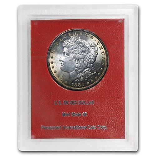 1886 Morgan Dollar MS-60 (Paramount International Coin Co.) $1 MS-60