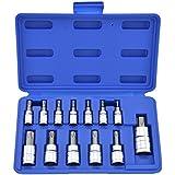 Neiko®  10073A Tamper Proof Torx Bit Socket Set, T8 - T60, S2 Steel | 13-Piece Set